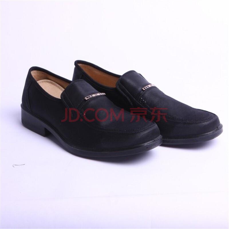 步福祥老北京布鞋 男鞋 男士布鞋 特价鞋 3006黑 黑色 44