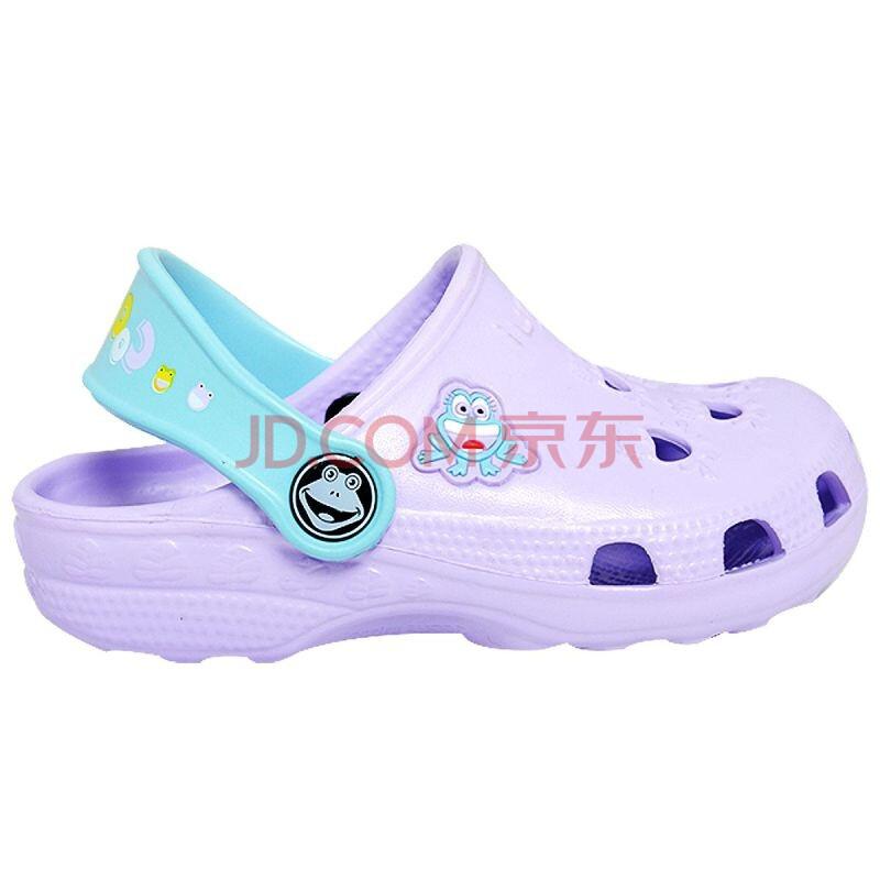 酷趣儿童鞋2011夏款洞洞鞋凉鞋专柜正品男童女童宝宝鞋超...