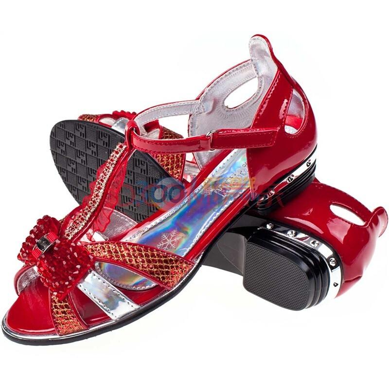 时尚镶钻女童凉鞋