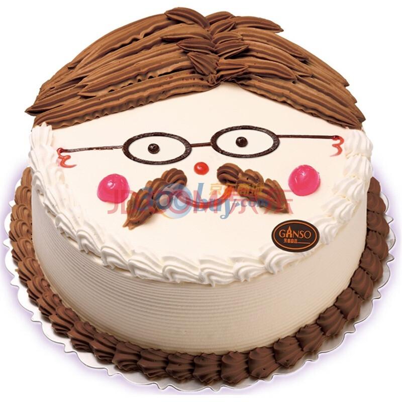 猪的图案蛋糕简单图片