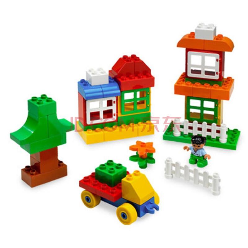 乐高积木拼装图纸房子