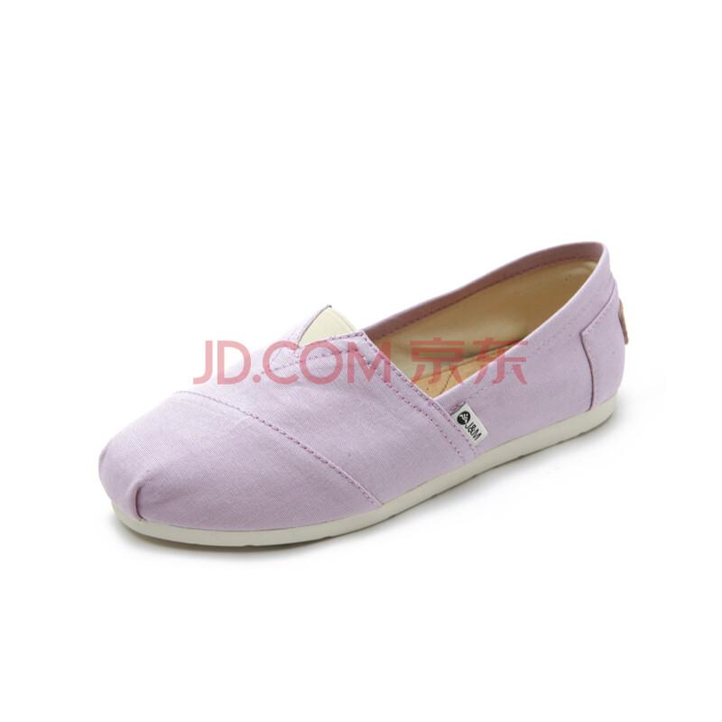 潮纯色时尚低帮平底帆布鞋女式鞋子w