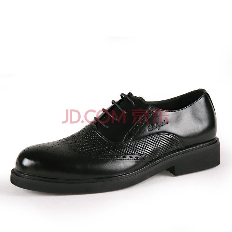 巴利世家【balysika】英伦雕花商务正装男士皮鞋