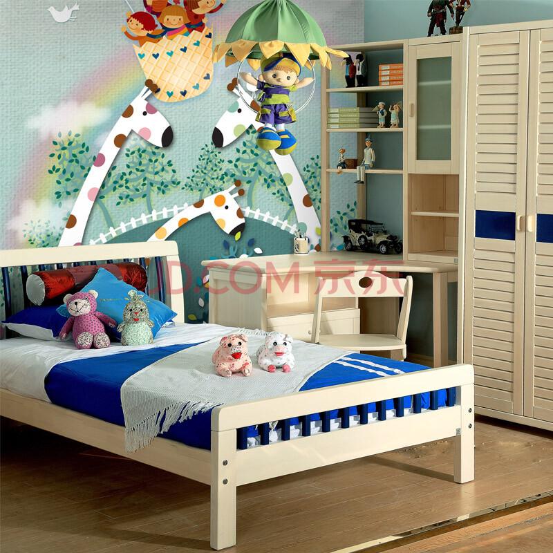 男孩女孩儿童房墙纸壁纸卧室床头背景