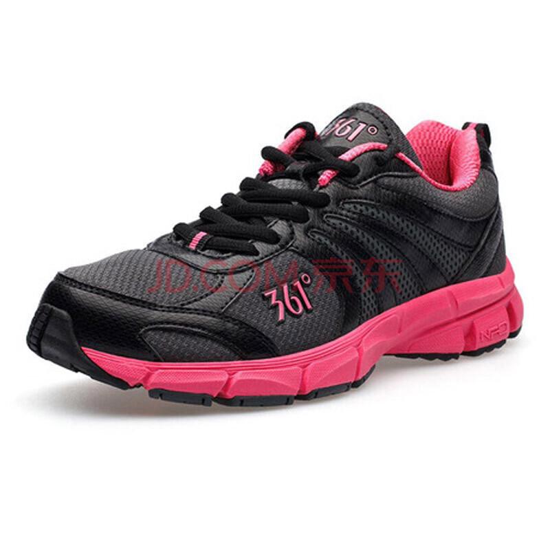361°361度女鞋休闲运动鞋透气网面跑步鞋2012秋冬