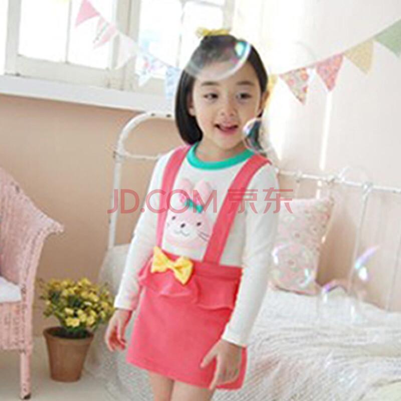 一品小熊童装女童套装春秋装儿童裤裙cg30003