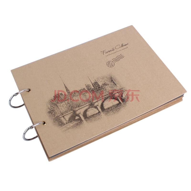 慕语diy手工制作牛皮卡纸系列相册