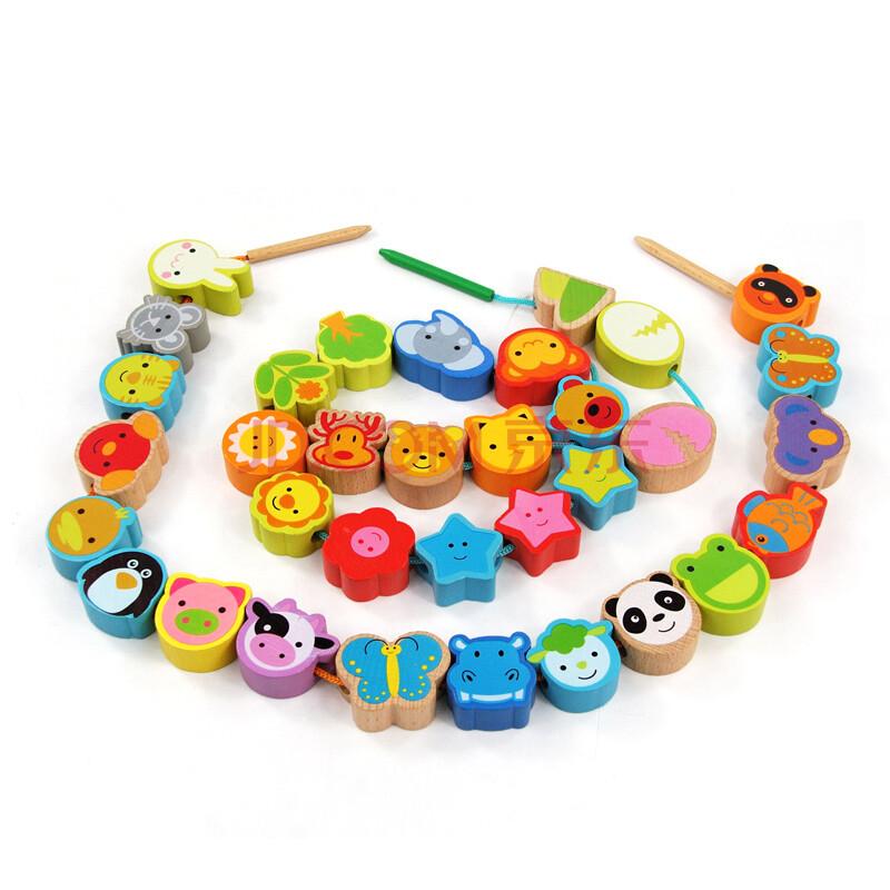 大号精品益智串珠 儿童益智玩具1-3岁