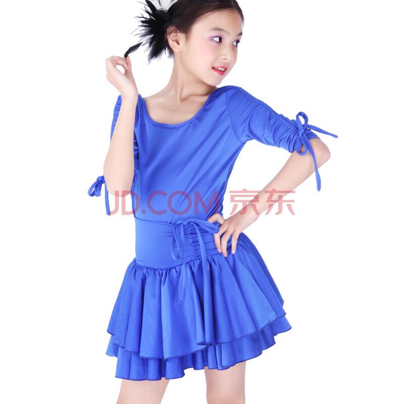 儿童拉丁舞裙