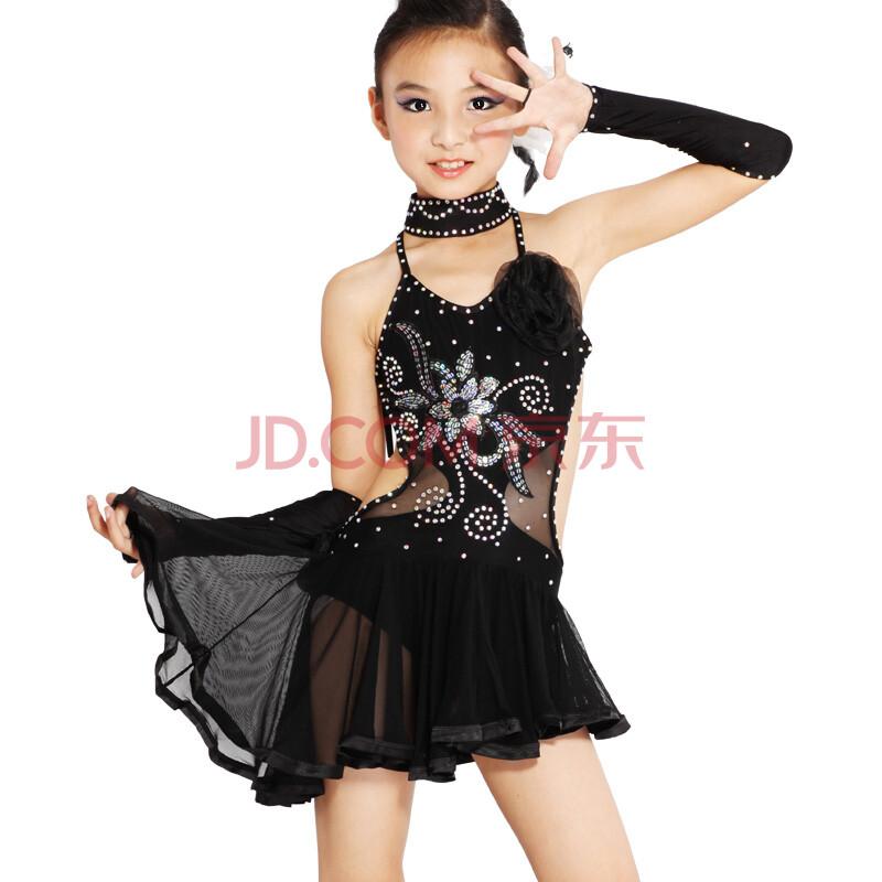 儿童拉丁舞表演服装