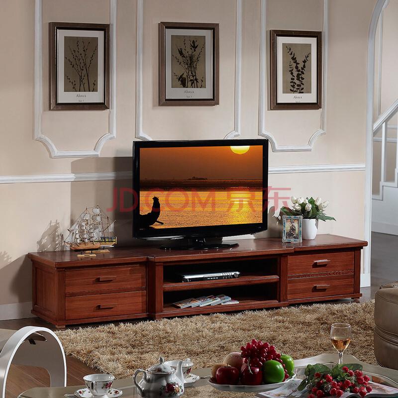 美乐乐家具 凯撒豪庭 电视柜 中式风格电视柜 地柜 置图片