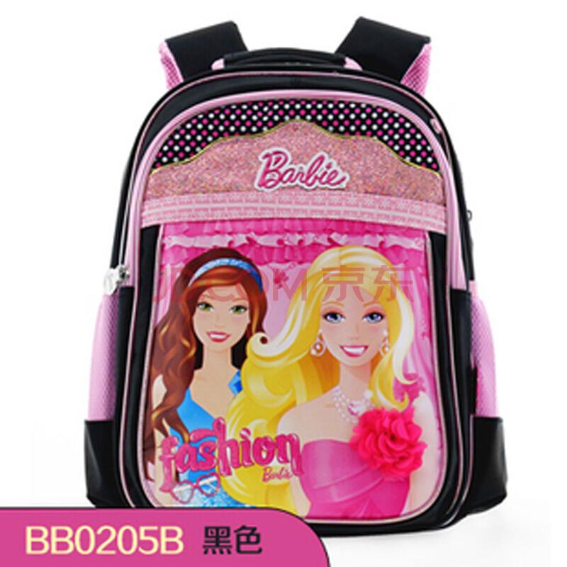 芭比公主书包小学生双肩背包儿童书包女生包包