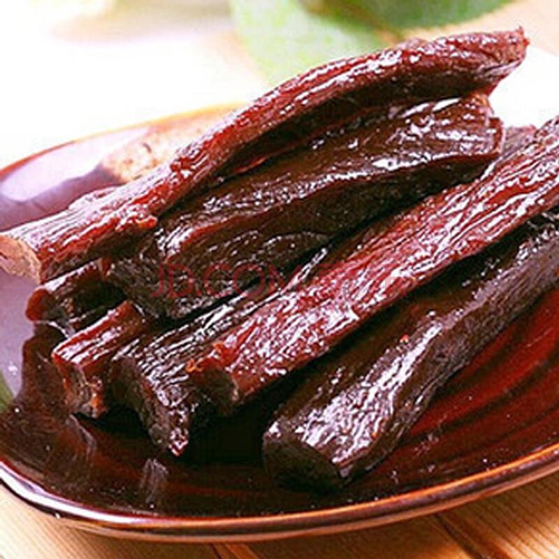 牛肉干 阿民风干牛肉干 半干型 内蒙古特产 醇香四溢 158克(原味)休闲零食 特价包邮