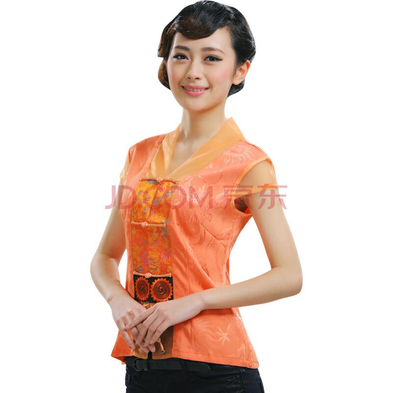 2013夏装新款女士中式唐装改良刺绣短袖上衣