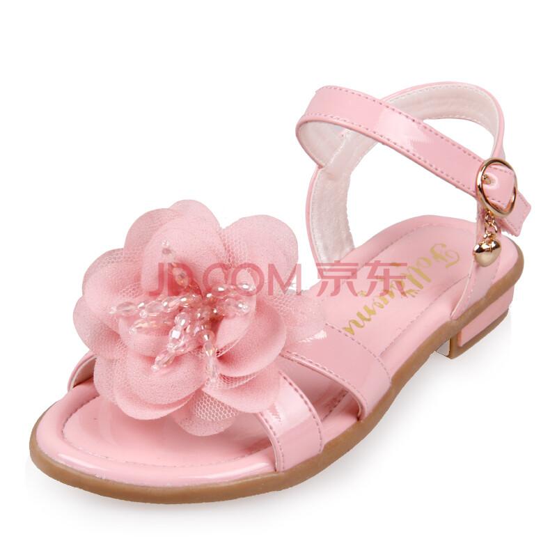 富罗迷女童凉鞋 公主鞋