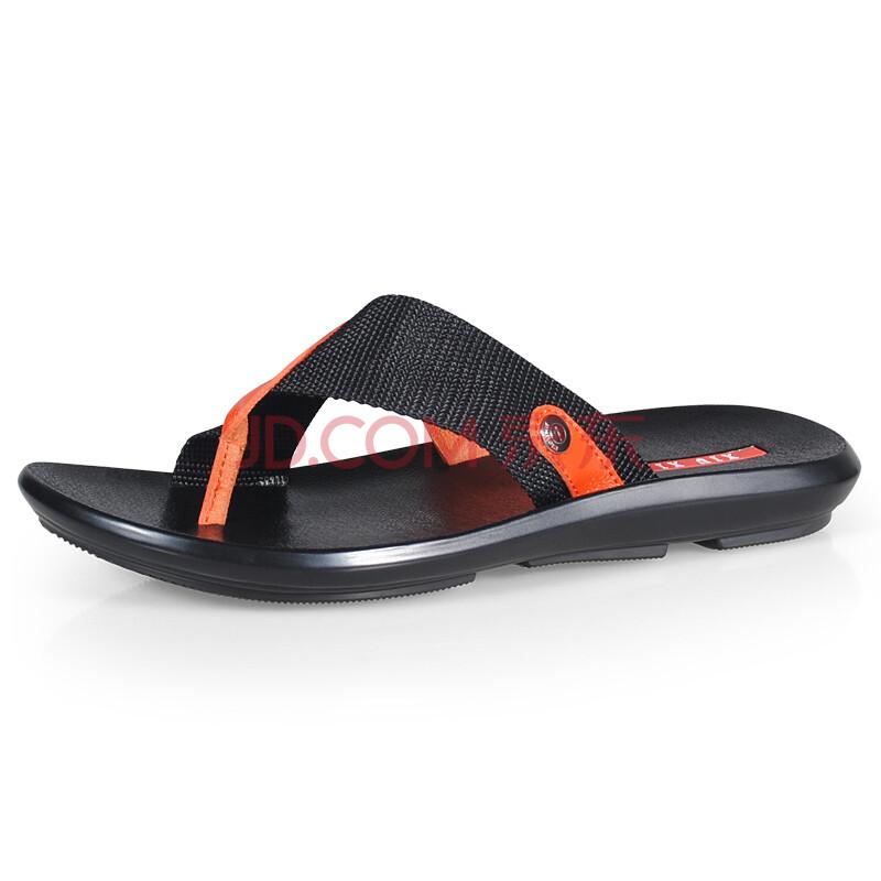 优牛 夏季潮拖潮男士人字拖鞋子男式沙滩鞋 2013新款潮流高清图片