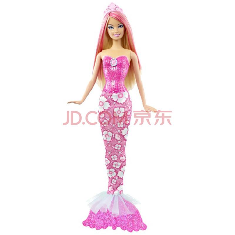 芭比Barbie芭比娃娃 甜美人鱼 女孩玩具 X94