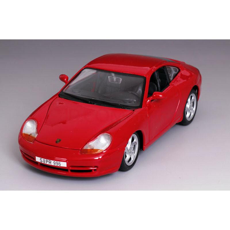 24保时捷911卡雷拉跑车仿真合金汽车模型玩具车