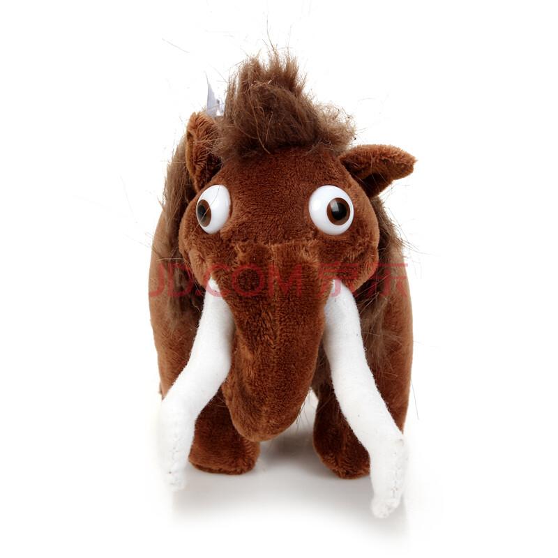 冰河世纪冰川世纪松鼠树懒猛犸象剑齿虎毛绒玩具公仔 女松鼠50cm 1