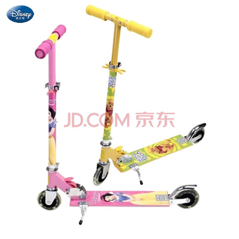 正品disney迪士尼滑板车儿童二轮