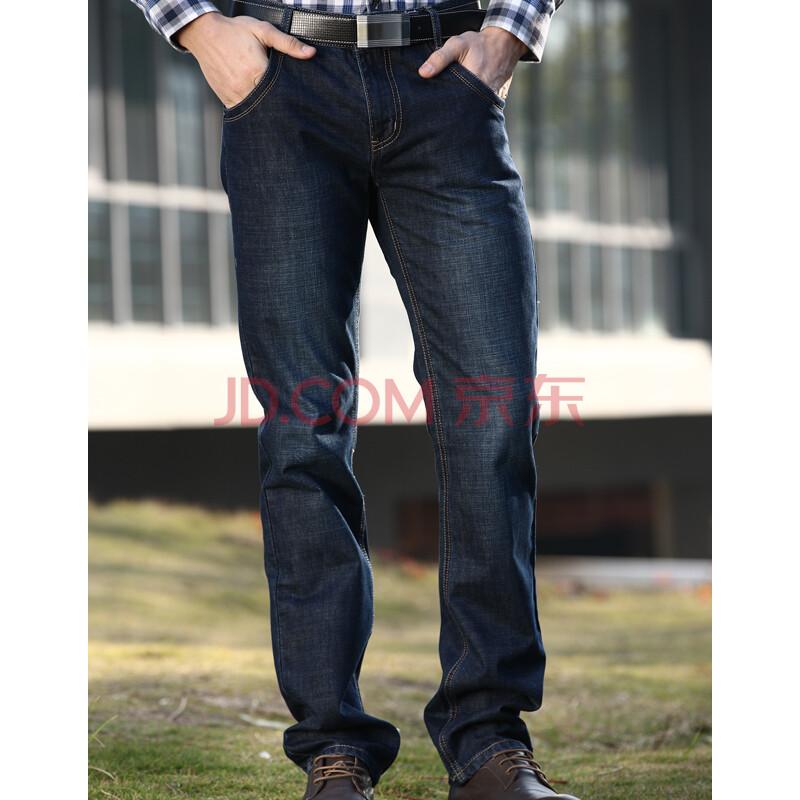 阿仕顿男士牛仔裤男直筒休闲牛仔裤
