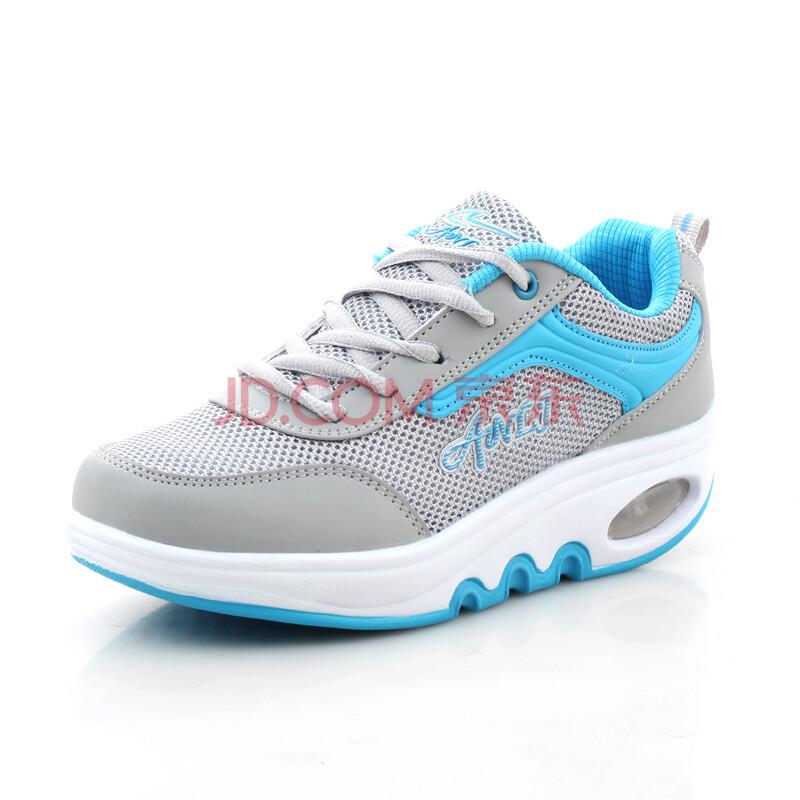 春季摇摇鞋运动鞋瘦腿增高鞋厚底瘦身减肥鞋