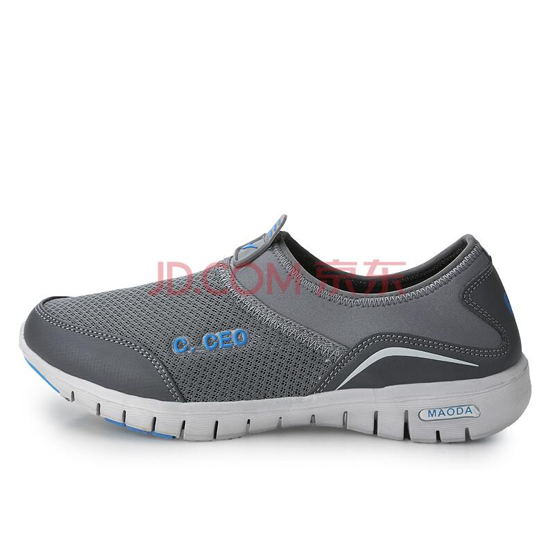脚蹬懒人赤足运动鞋