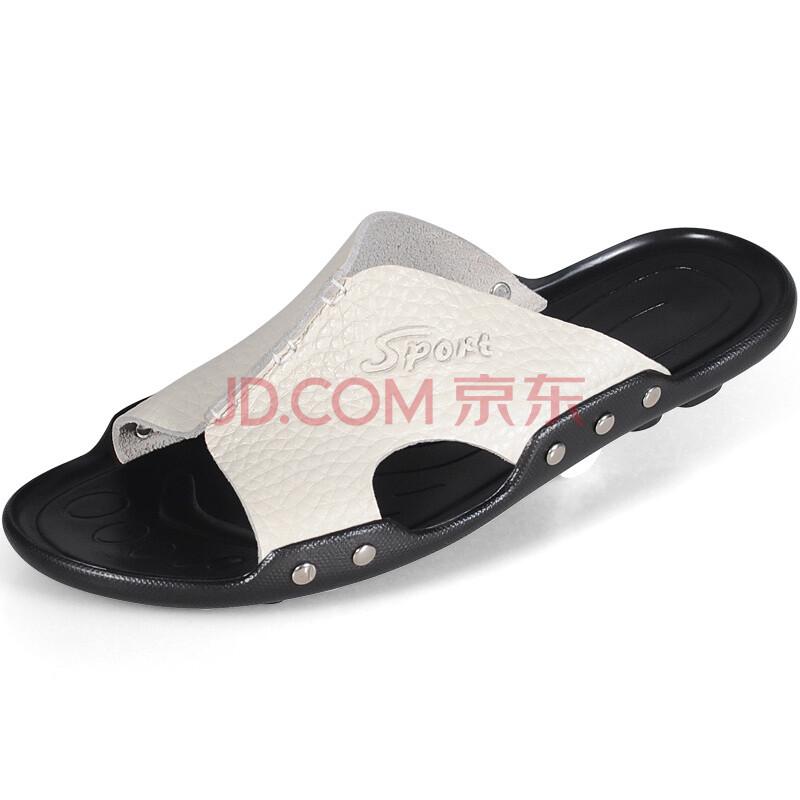 个性夏季潮流男式沙滩鞋