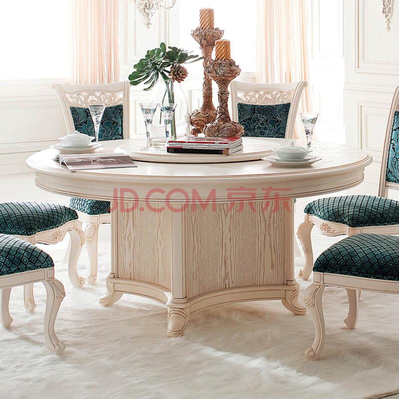 欧式圆餐桌餐台