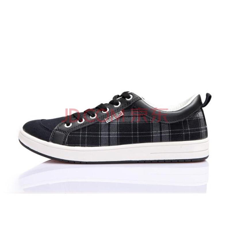 回力 鞋子夏冬季款低帮帆布鞋男款系带平底鞋时尚百搭