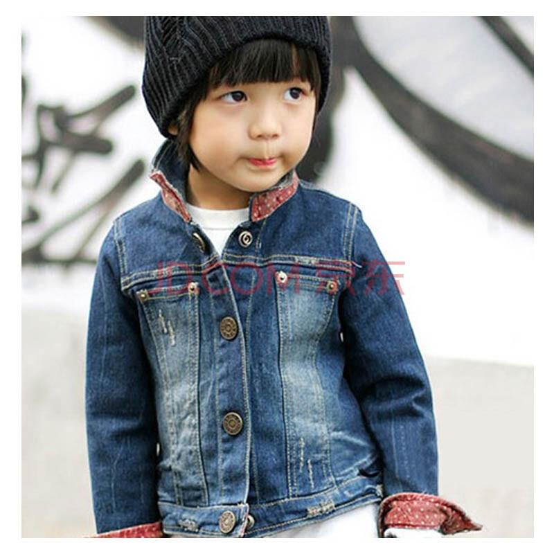 儿童牛仔上衣外套