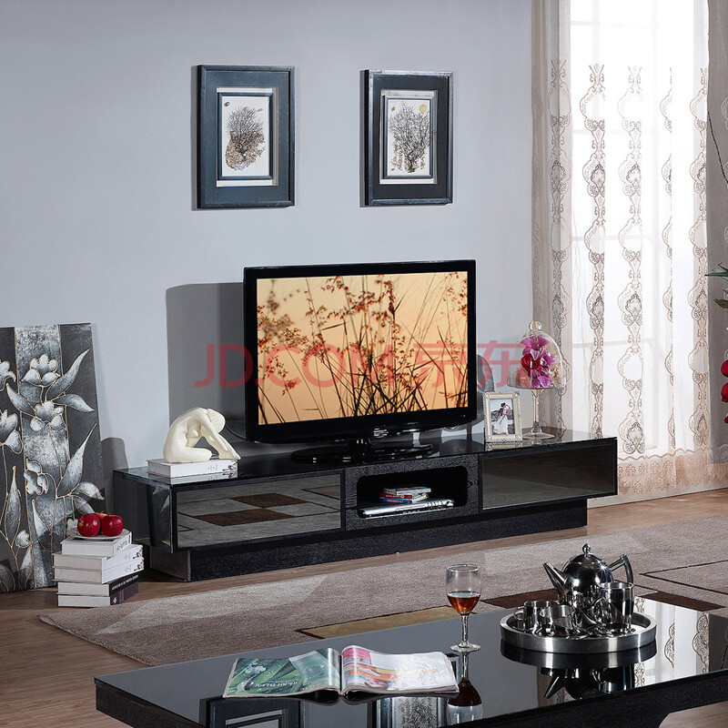 美乐乐家具 电视柜 地柜 现代风格电视柜 现代家具 客厅家具图片