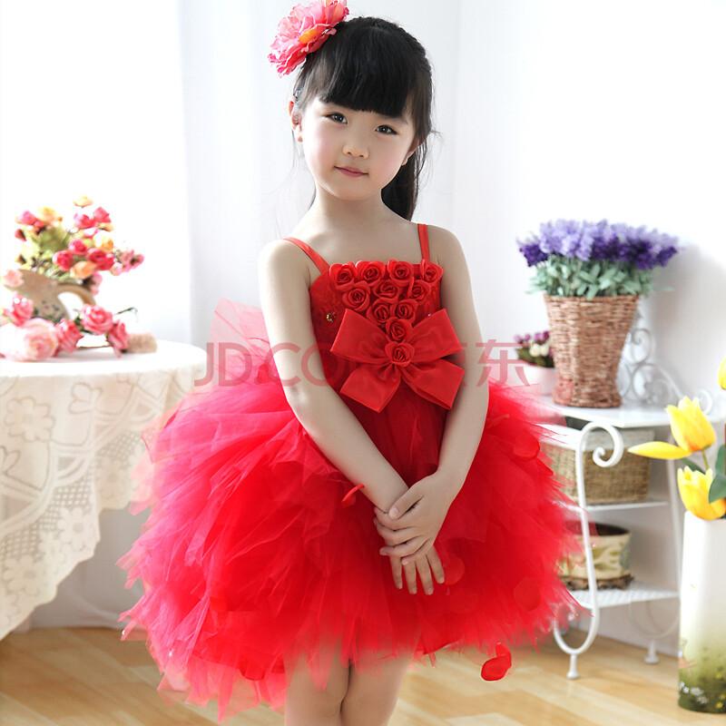 hang儿童礼服裙
