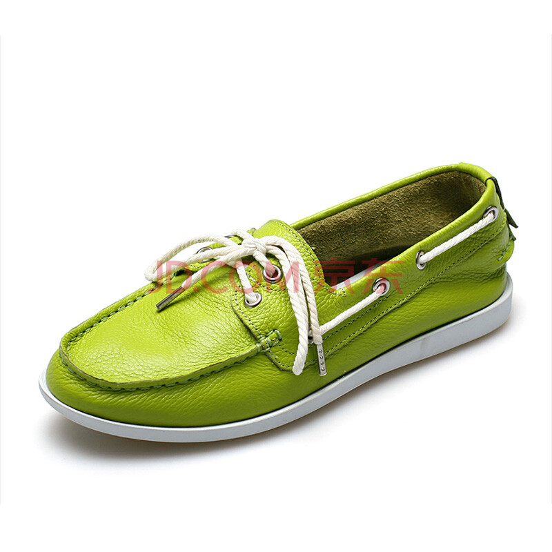 sanken帆船鞋 男英伦真皮鞋子