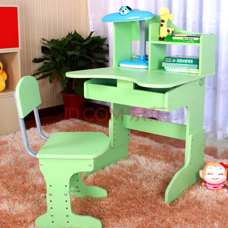 佳蓓儿 儿童学习桌 椅套装 可升降 BY60-1无油漆E0零甲醛 学生桌 写字桌课桌 书桌
