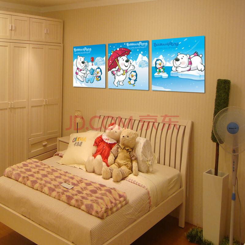 现代儿童房挂画