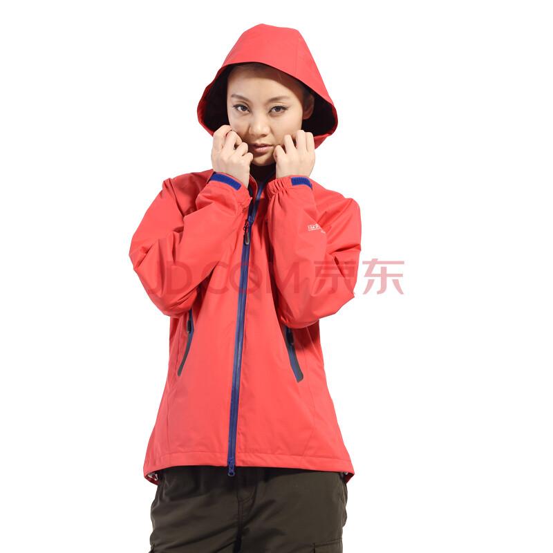女式冲锋衣单衣_奥特山(outshine) 女士单层修身冲锋衣 户外运动服装