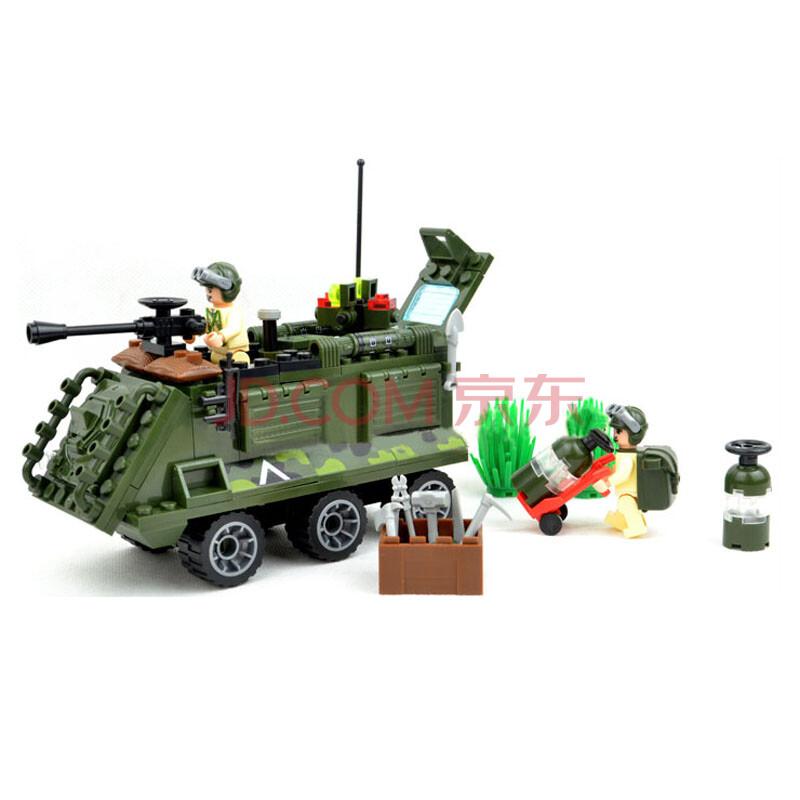 启蒙拼装积木玩具 814