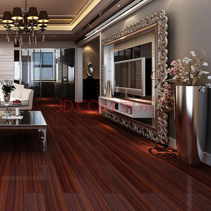柚木实木复合木地板
