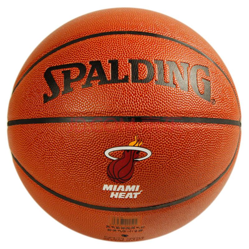 ING斯伯丁 NBA热火队徽 74 098 PU 京东运动第一店图片图片