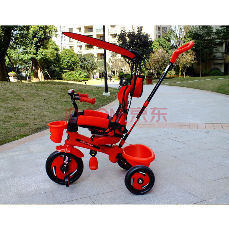 森夏儿童三轮车 脚踏车