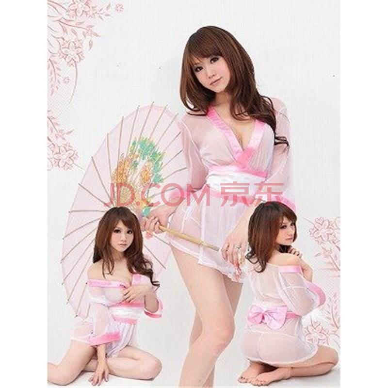 i kissss 日式睡袍 东洋风情 透明诱惑 薄纱睡衣
