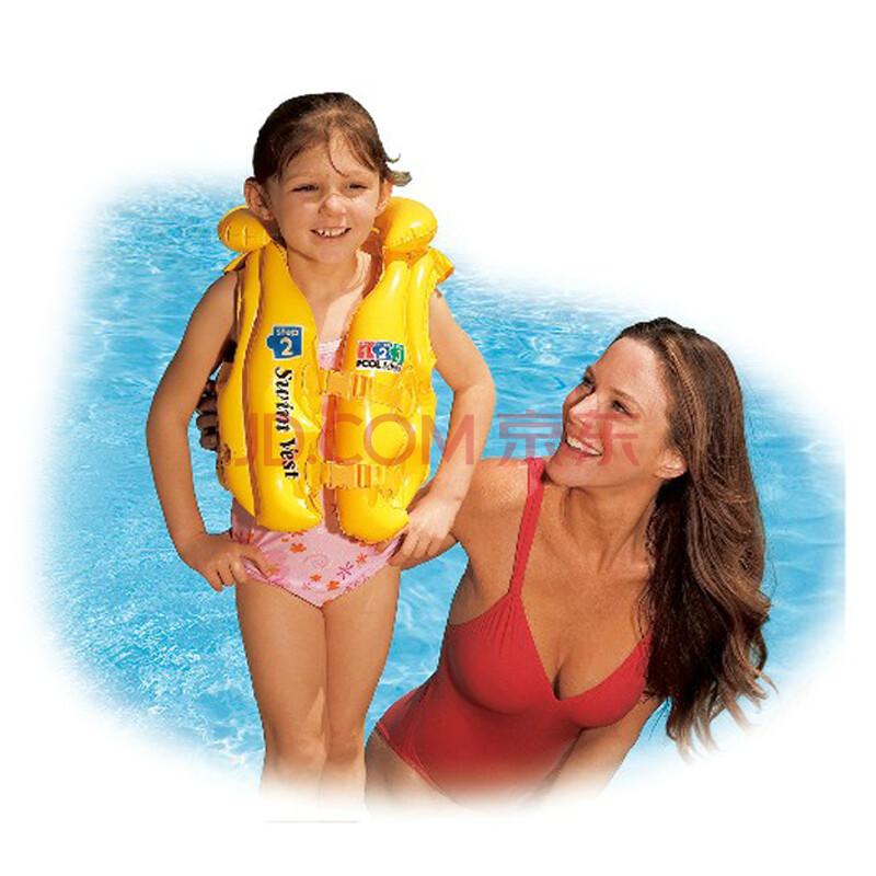 儿童充气救生衣