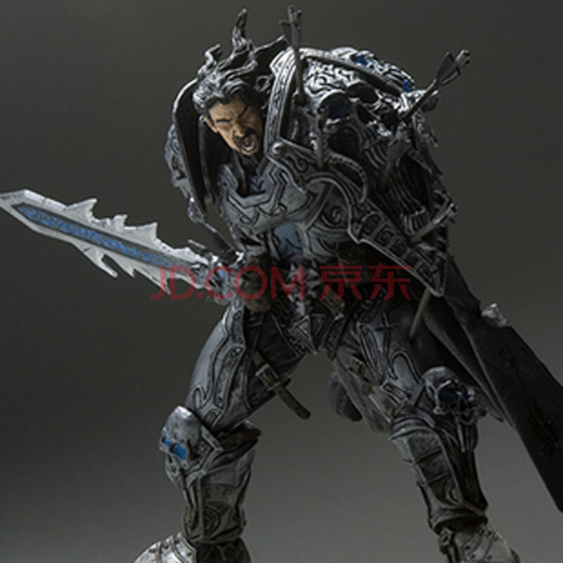 dc2代魔兽世界手办模型初版正版 t3套人类战士