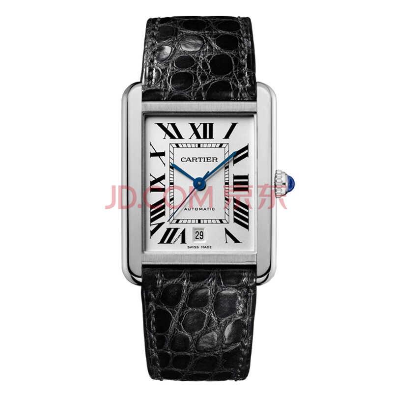 卡地亚(Cartier)手表 坦克系列机械情侣表男表W5200027