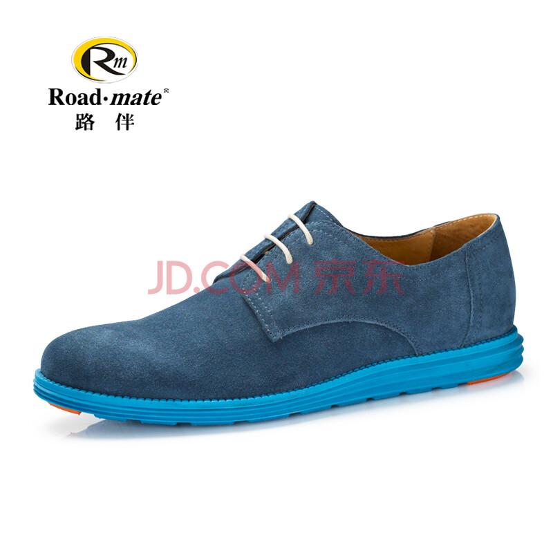 伴男士时尚英伦复古潮流荧光低帮系带牛皮真皮休闲鞋