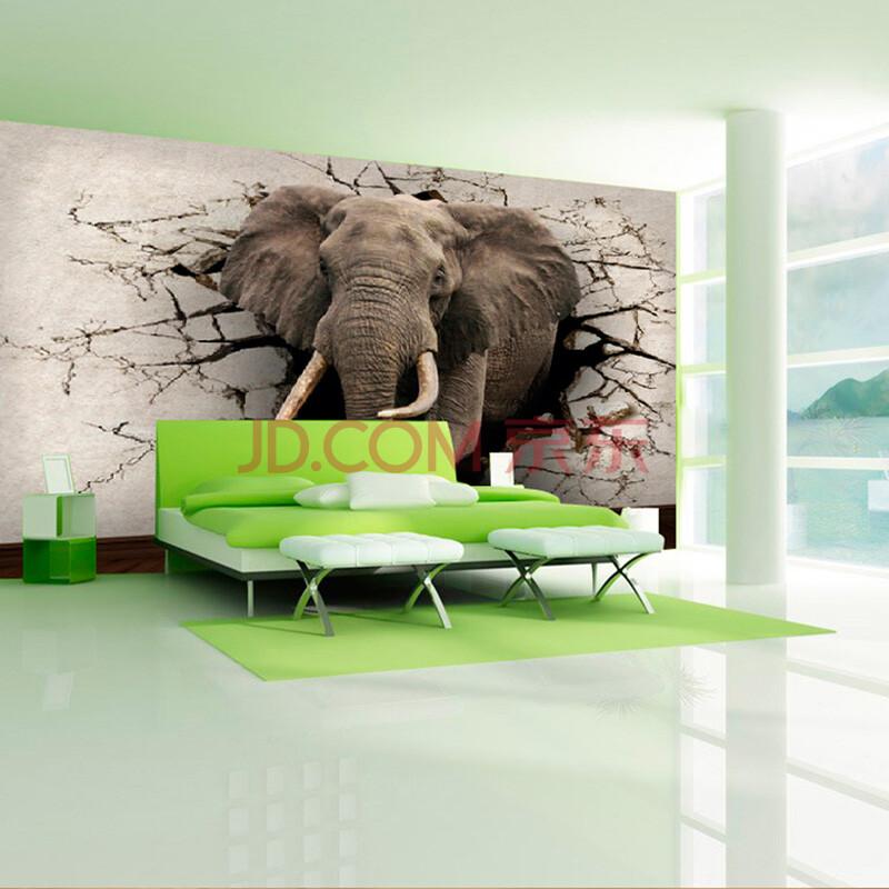 纸尚美学墙纸 原始动物zy52003可订制个性壁画