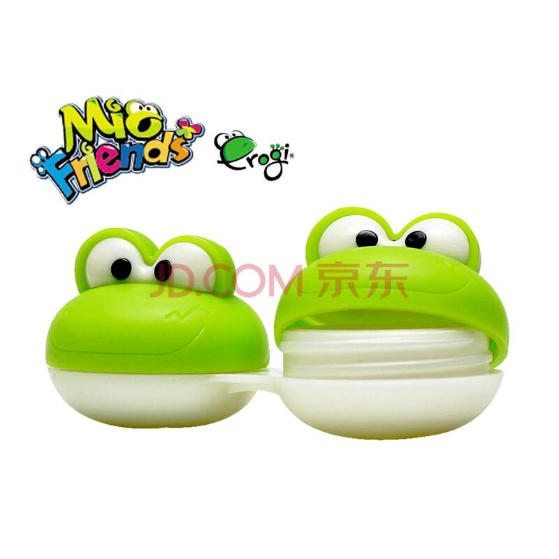 纳米银健康安全抗菌妙递卡通青蛙隐形眼镜护理盒
