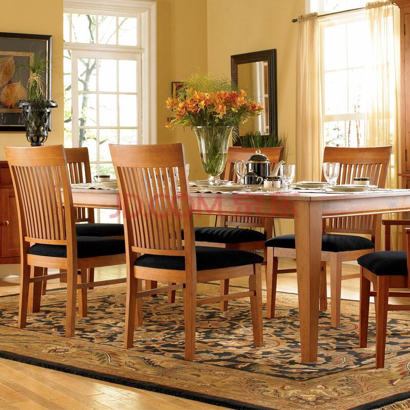 美式乡村实木风格餐厅家具