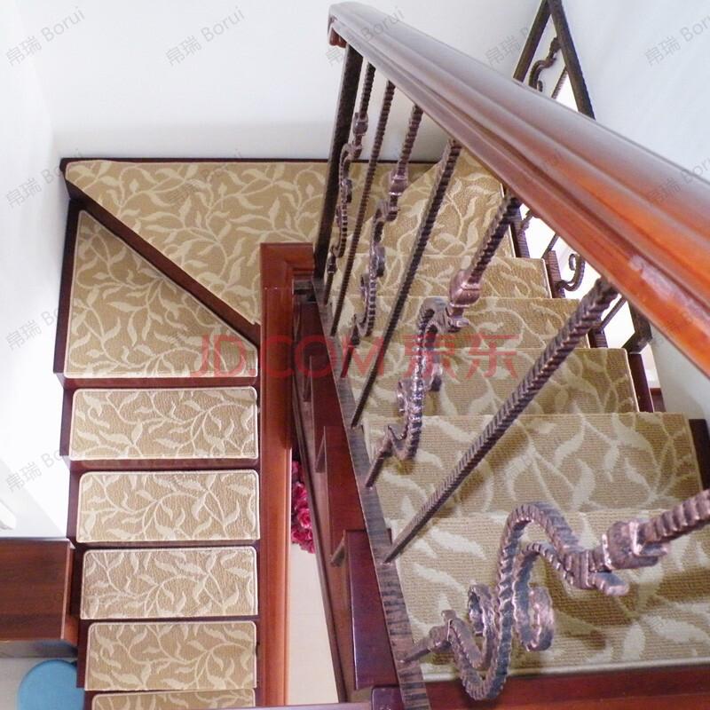 帛瑞 楼梯垫踏步垫 楼梯地毯 楼梯防滑垫 可定制尺寸